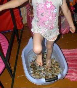 Водные процедуры для ног
