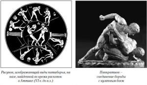 Древнегреческие спортсмены
