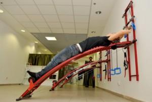 Упражнение на стенке