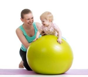 Упражнения с малышем