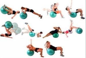 Фитнес с шаром