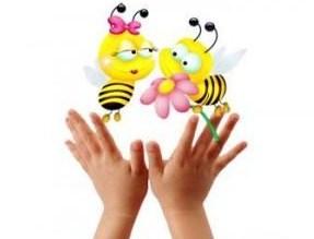 Ладошки и пчелки