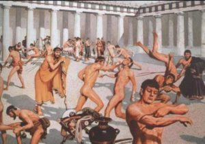Физическое воспитание в Древней Греции