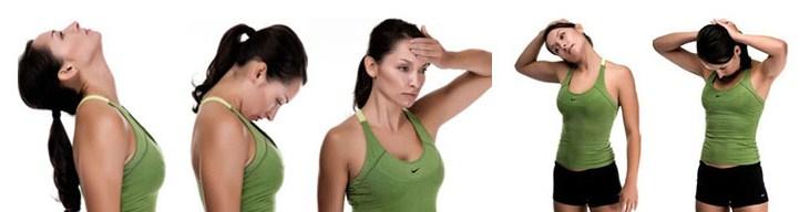 Упражнения на шее