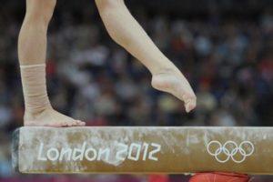 Ноги спортсменки
