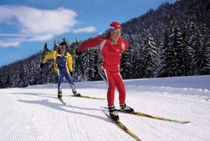 Лыжные занятия