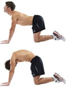 Округливание спины