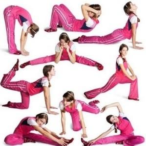 Разные упражнения для мышц ног