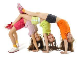Дети со здоровой спиной