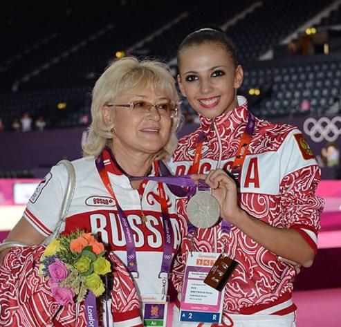 С олимпийской чемпионкой
