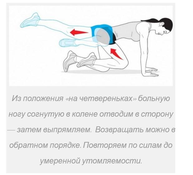 Движение ногой
