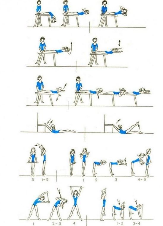 Тренировка для спины