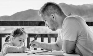 Занятие с отцом